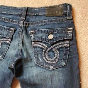 EUC! Big Star Nico jeans size 29L dark wash